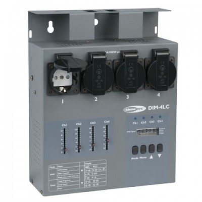 DIM-4LC 4 channel dimming pack Local Control