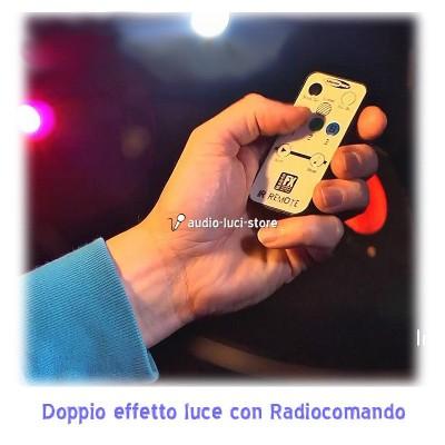 luci discoteca con radiocomando