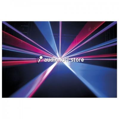 laser discoteca viola rosso blu