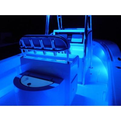 luce fluorescente wood