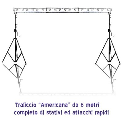 Americana da 6 metri completa