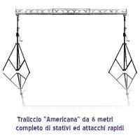 Americana luci da 6 metri completa