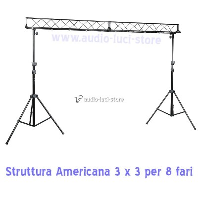 Struttura americana Light bridge Set