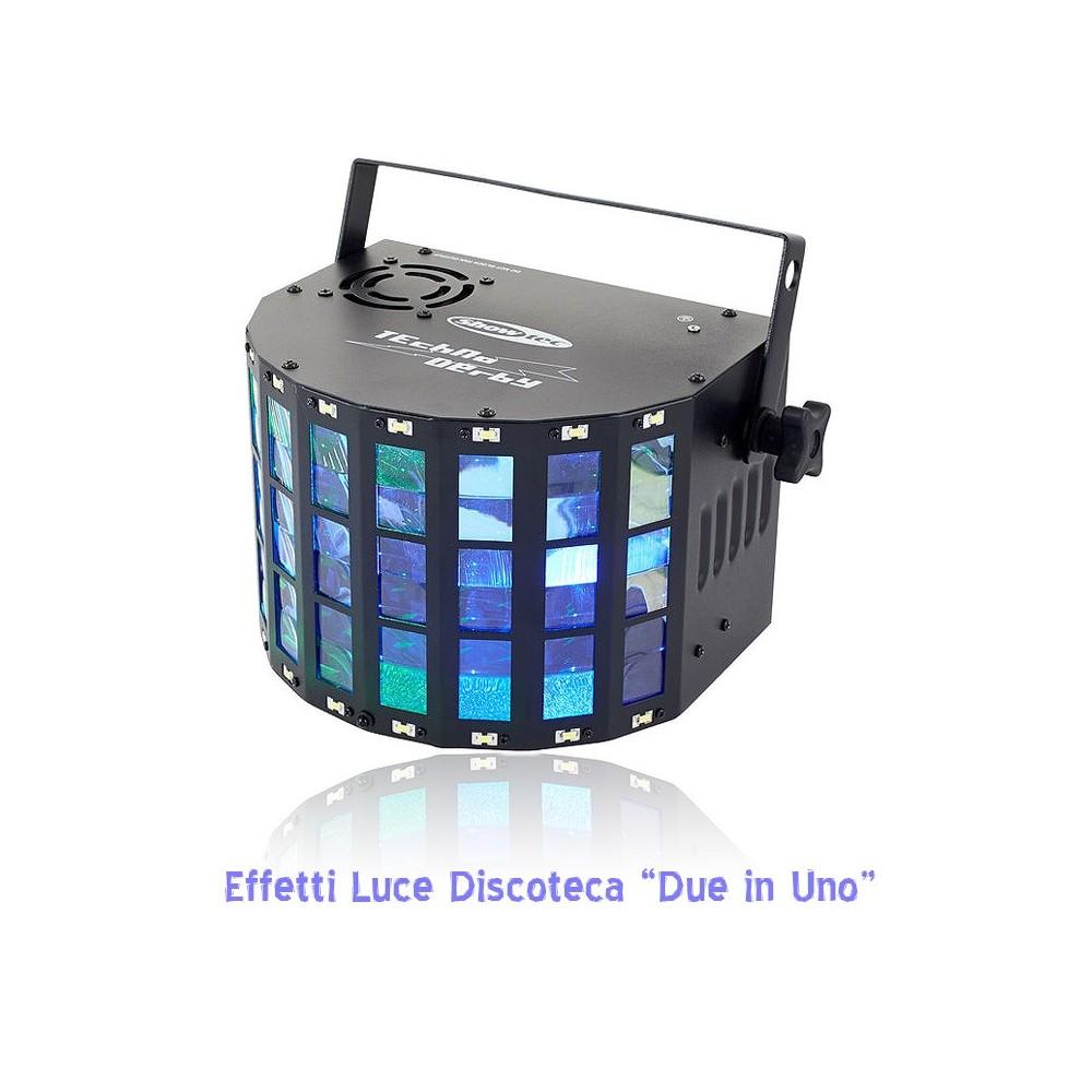 Techno Derby 2-in-1 Light effect