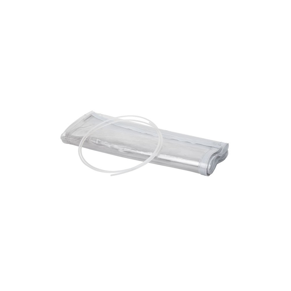 Telo trasparente antipioggia per teste mobili all'aperto