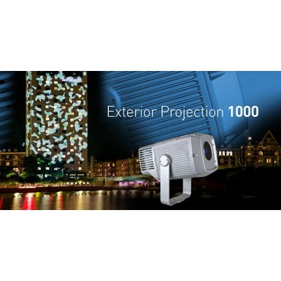 Exterior Projection 1000 Zoom