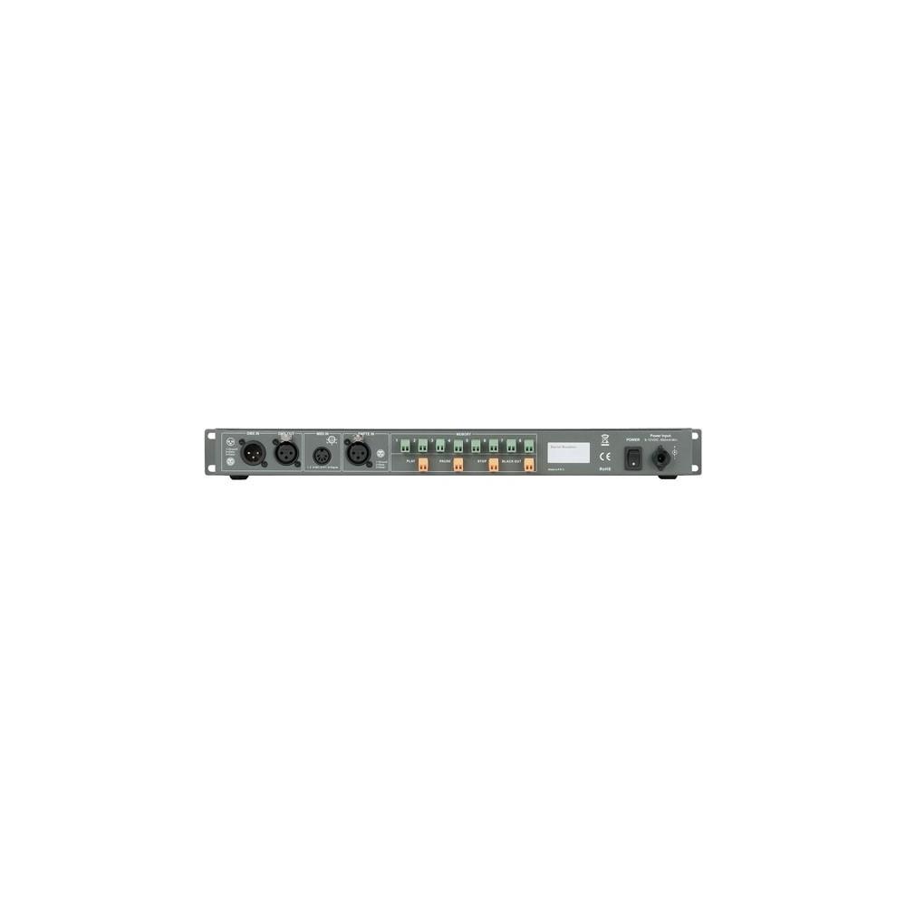 registratore programmi luci dmx