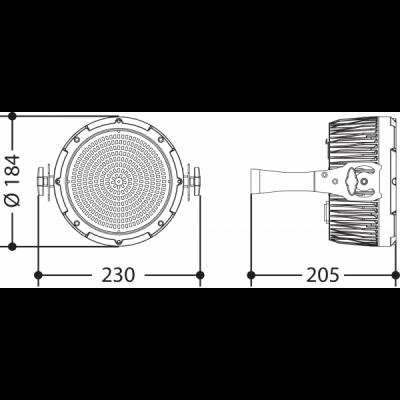 Luce stroboscopica LED 1500 watt