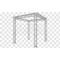 Struttura Stand per Esposizione 2,80x2,80x2,40 Triang.