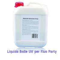Liquido bolle UV giallo 5 Litri