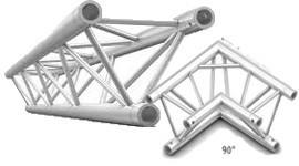 Traliccio Americana alluminio per luci e fari