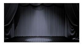 Tessuto oscurante per fondali di scena o coreografie