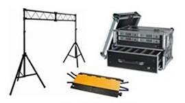 Vendita strutture americana, palchi, pedane,attrezzature professionali