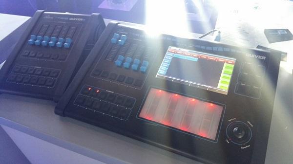 Mixer luci DMX touch screen