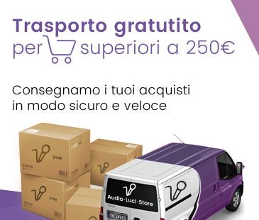 Trasporto gratis sopra 250€