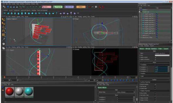 animazioni laser